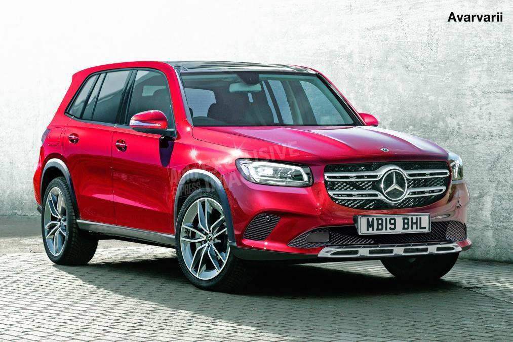 全新Mercedes-Benz方形休旅GLB 預計今年夏季現身!