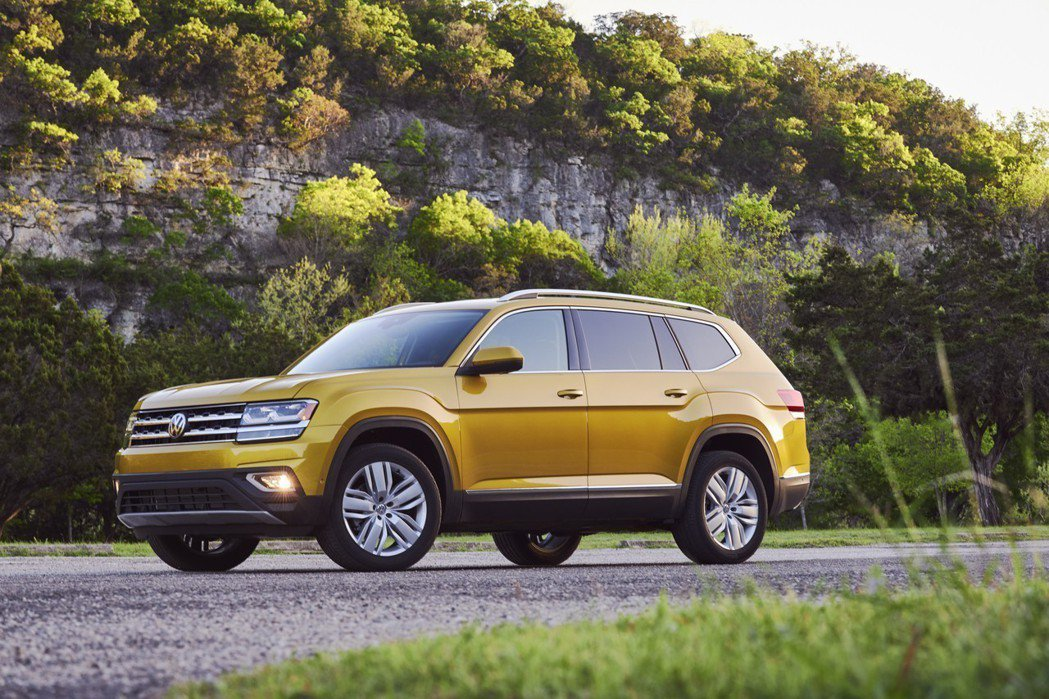 Volkswagen Atlas。 摘自Volkswagen