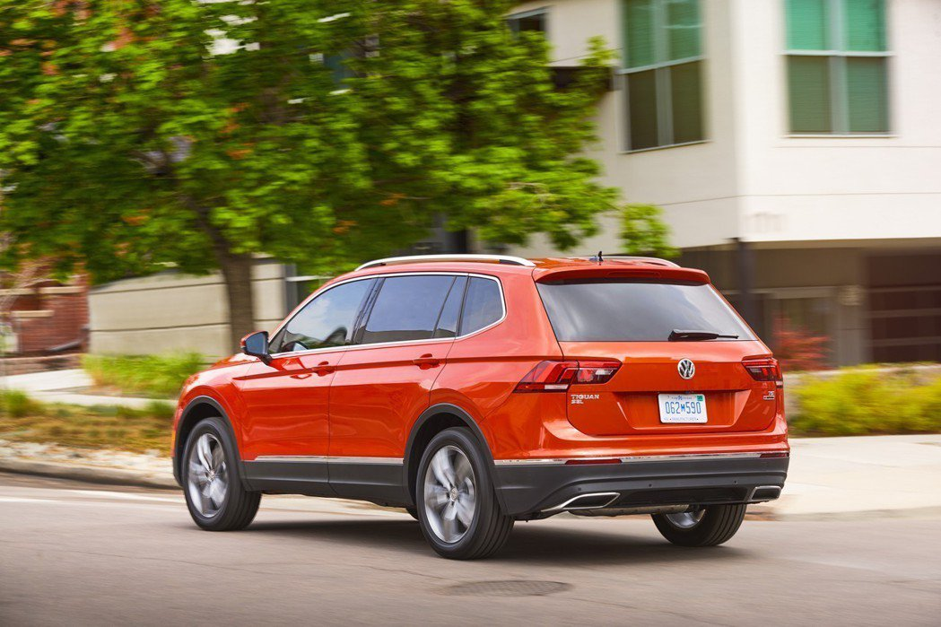 Volkswagen Tiguan去年在美國市場銷售成長幅度高達119%,還首度突破了十萬輛大關。 摘自Volkswagen