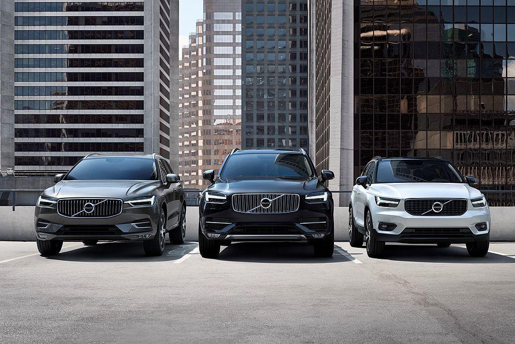 休旅車已經成為瑞典Volvo汽車的主力,並帶動品牌整體銷售增長。 圖/Volvo Car提供