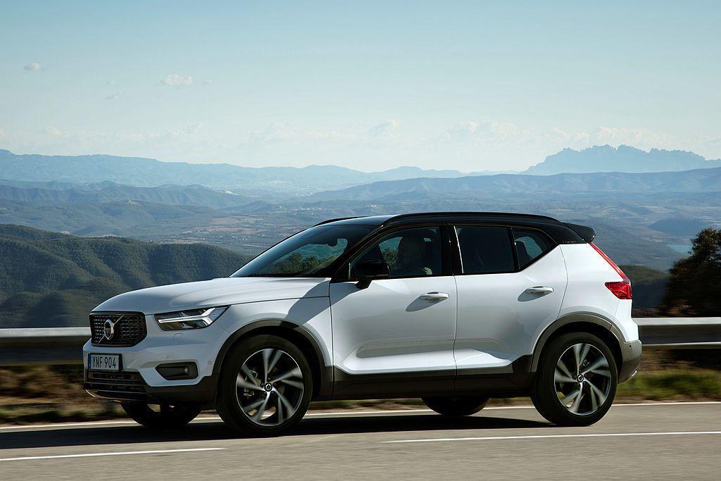 都會休旅Volvo XC40,以75,828輛銷售成績排名品牌熱銷車款第三。 圖...