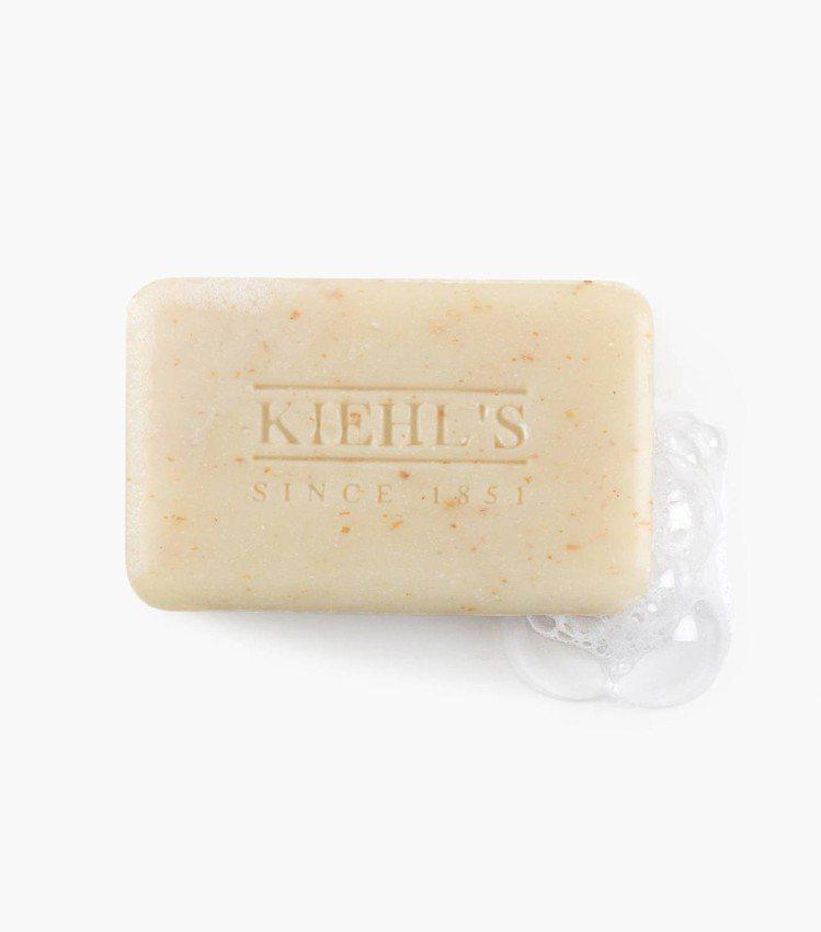 極限男性燕麥去角質潔膚皂、480元/200g。圖/摘自Kiehls官網