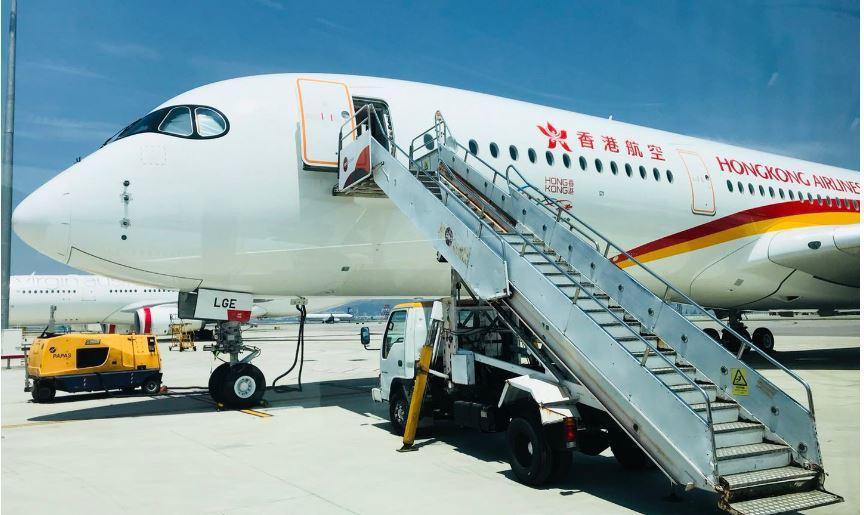 香港航空傳債務危機 但駁斥清盤謠言。取自網易
