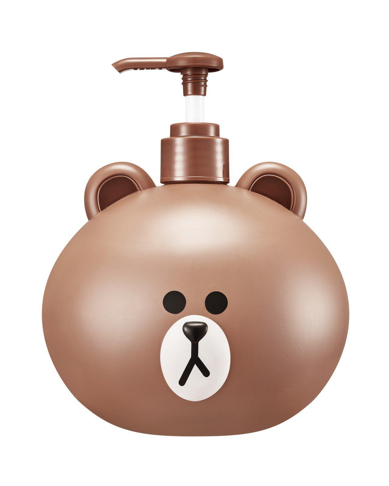 MISSHA X LINE FRIENDS熊大手部及身體乳液,原價550元,屈臣...