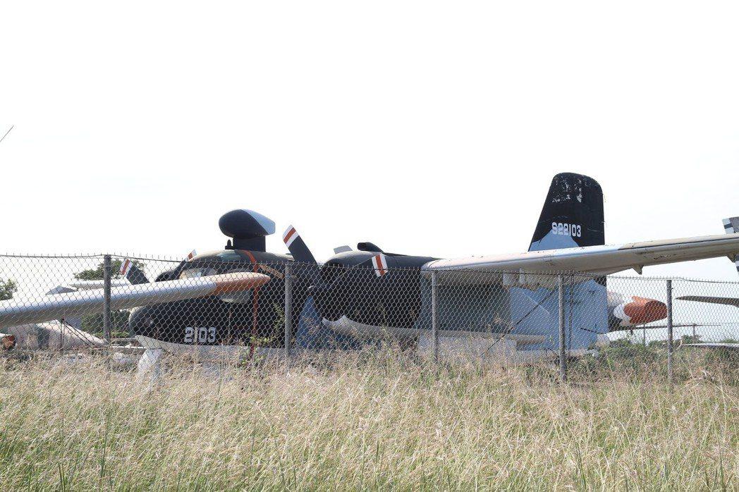 S-2A反潛機,駕駛艙上方的天線是最大特色。圖/讀者提供