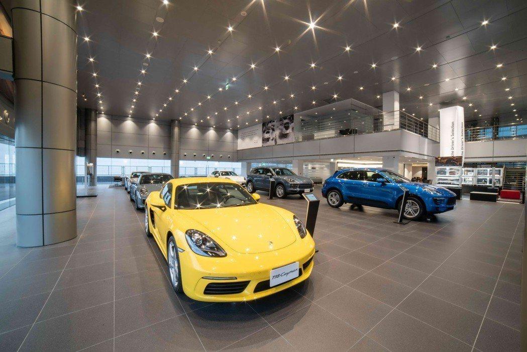 全新「保時捷新北展示暨服務中心」去年正式啟用後,成為全球最大的Porsche Centre保時捷經銷據點之一。 圖/尚騰汽車提供
