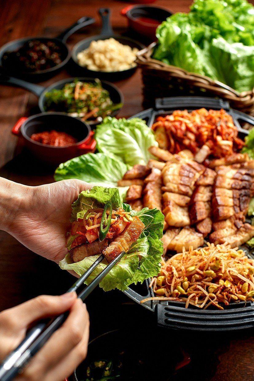 台北美福大飯店彩匯自助餐廳_韓式烤肉。台北美福大飯店/提供