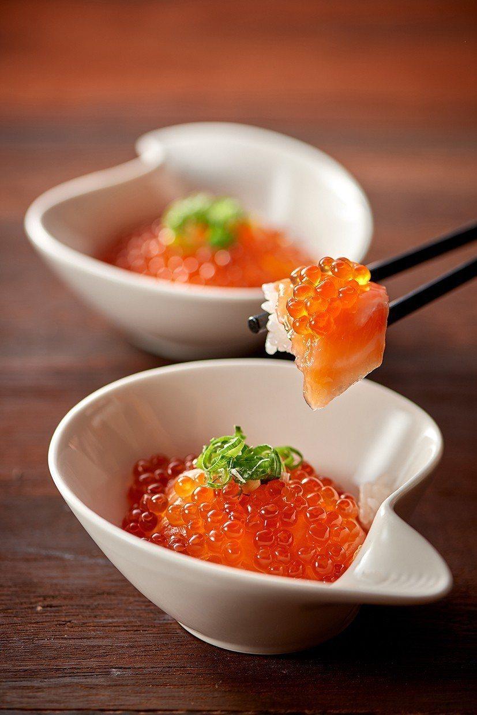台北美福大飯店彩匯自助餐廳_鮭魚卵飯。台北美福大飯店/提供