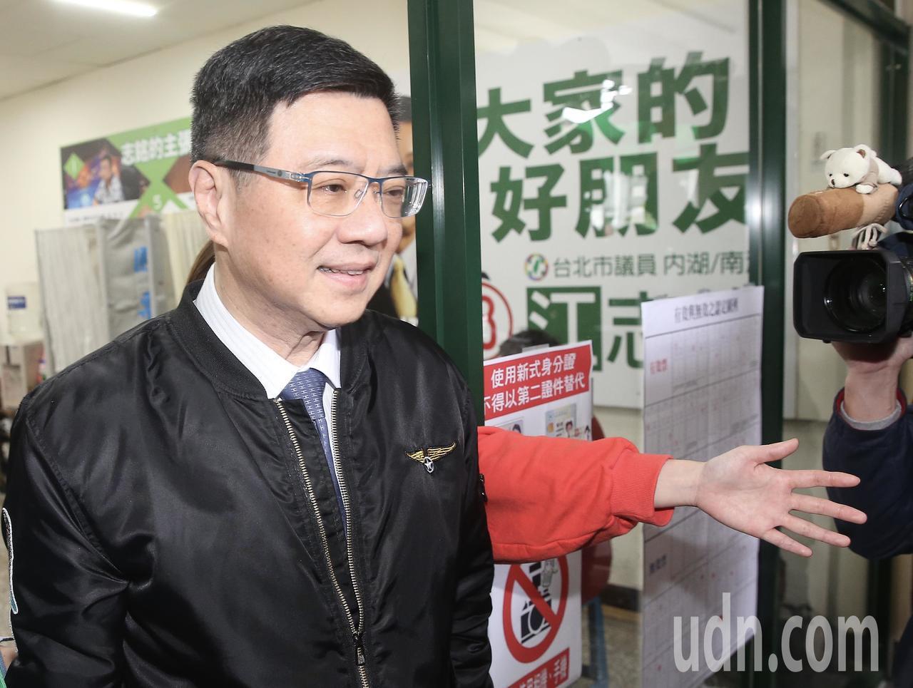 第16屆民進黨主席補選結果出爐,卓榮泰獲得24699票勝出。記者余承翰/攝影