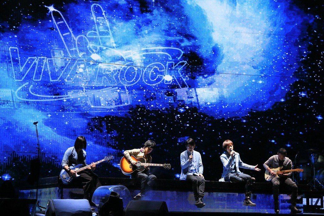 五月天「人生無限公司」巡迴演唱會在台中落幕。圖/相信音樂提供