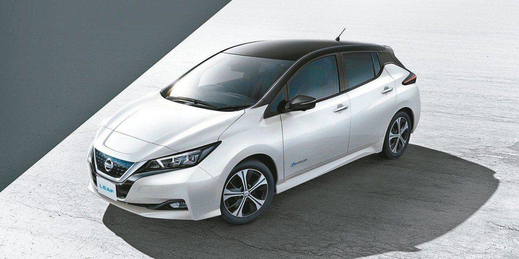 全球最暢銷的電動車NISSAN LEAF,今年將正式引進台灣市場。 圖/NISS...