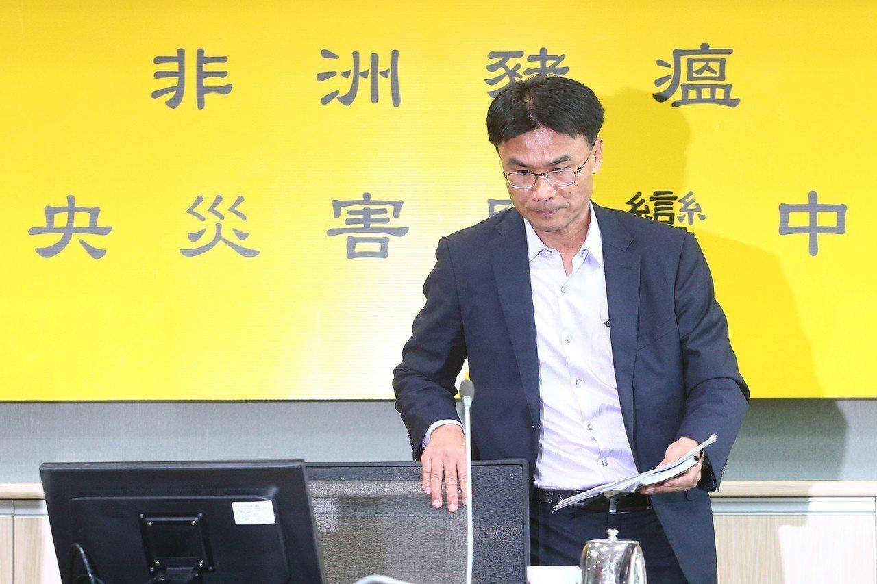 陳吉仲任農委會主委。 聯合報系資料照/記者葉信菉攝影