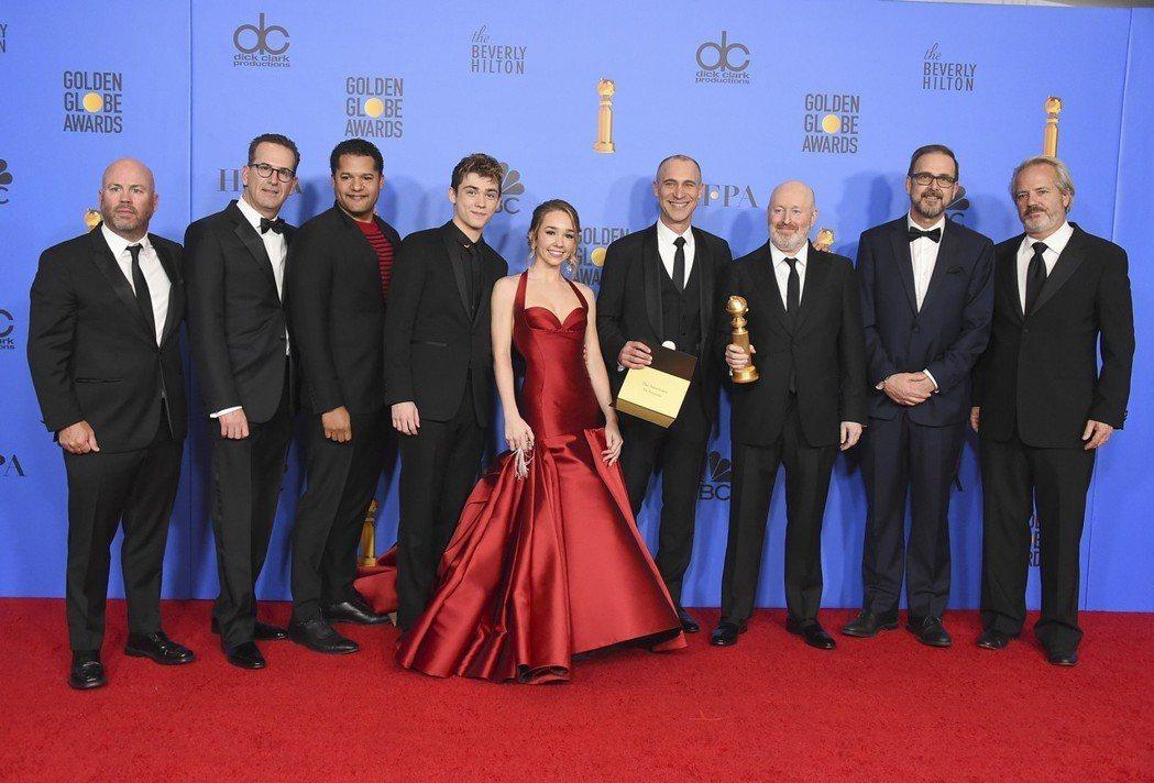 「冷戰諜夢」獲得金球獎最佳戲劇類影集。 圖/美聯社