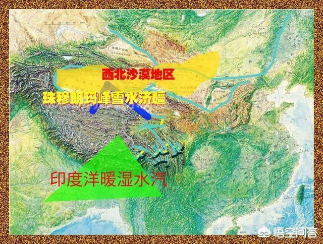 大陸專家稱「藏水北調」可將南方青藏高原的水注入北方乾旱的新疆。(悟空問答)