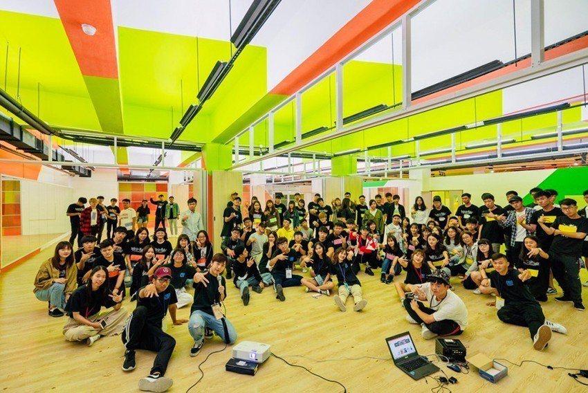 中原大學「樂河源地」快樂泉源,打造學生社團專屬空間。 中原大學/提供
