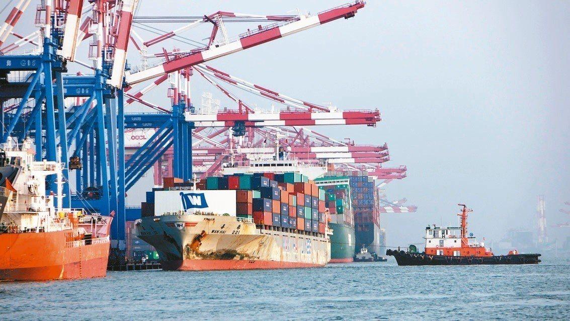 美中貿易戰衝擊。 圖╱聯合報系資料照片