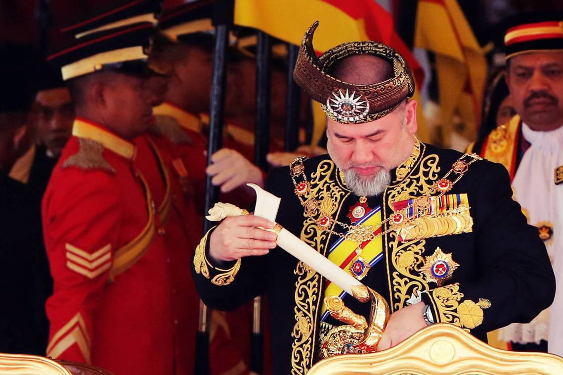 不愛江山愛美人?馬來西亞國王的「密婚辭職」? 圖/美聯社