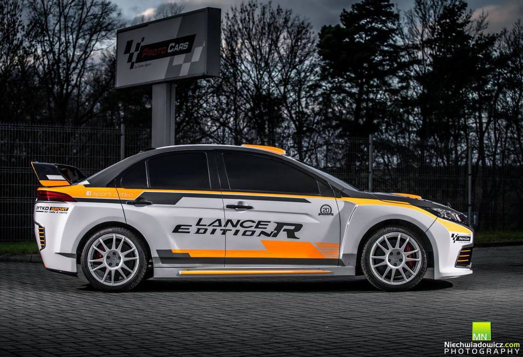 Lancer Edition R。 摘自Dytko Sport Proto Ca...