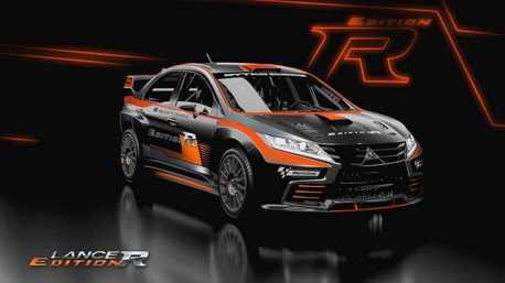 影/這台很像Grand Lancer的車子是新的Mitsubishi Lancer Evo?