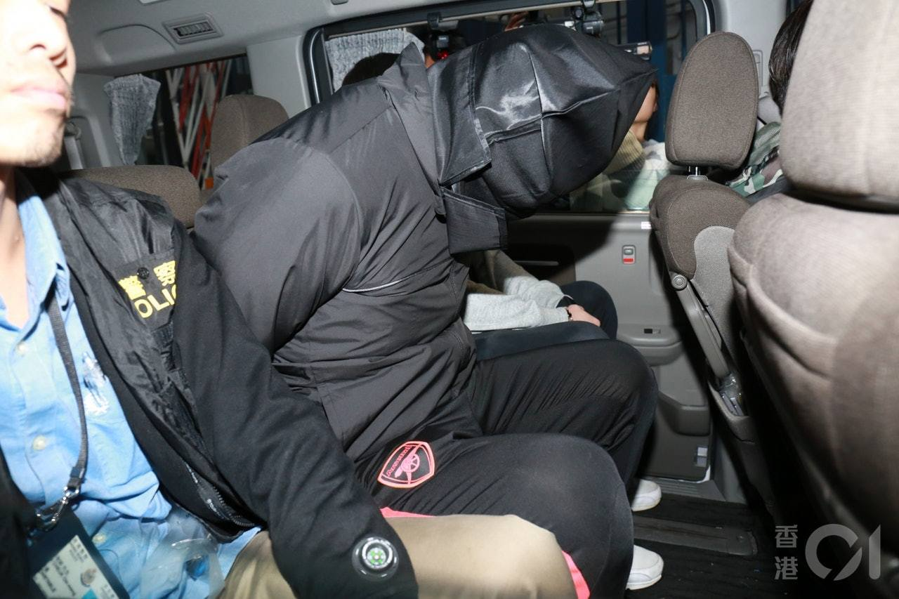 O記昨日晚上在紅磡拘捕三人,相信成功阻止另一場黑幫廝鬥。香港01記者林振華/攝影