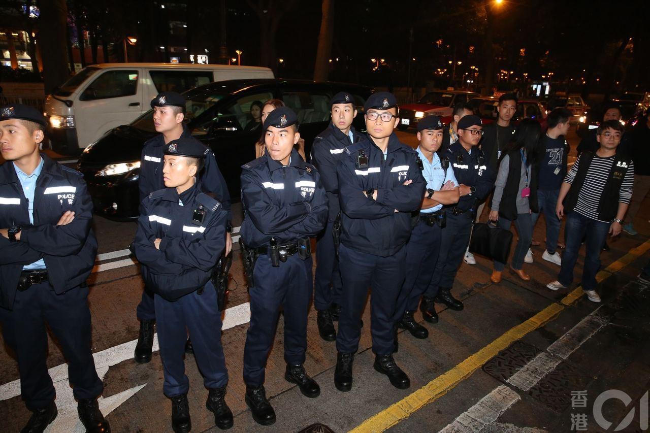 警方昨日展開全港大反黑。香港01資料照/記者王譯揚攝影