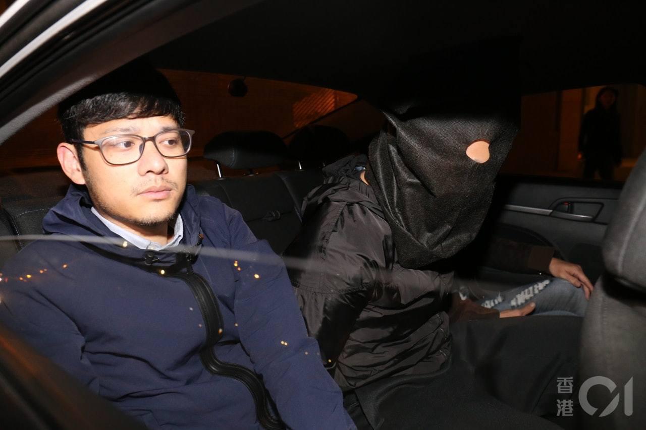 警方今凌晨在九龍、新界多區拘捕七名刀手。香港01記者賴南秋/攝影