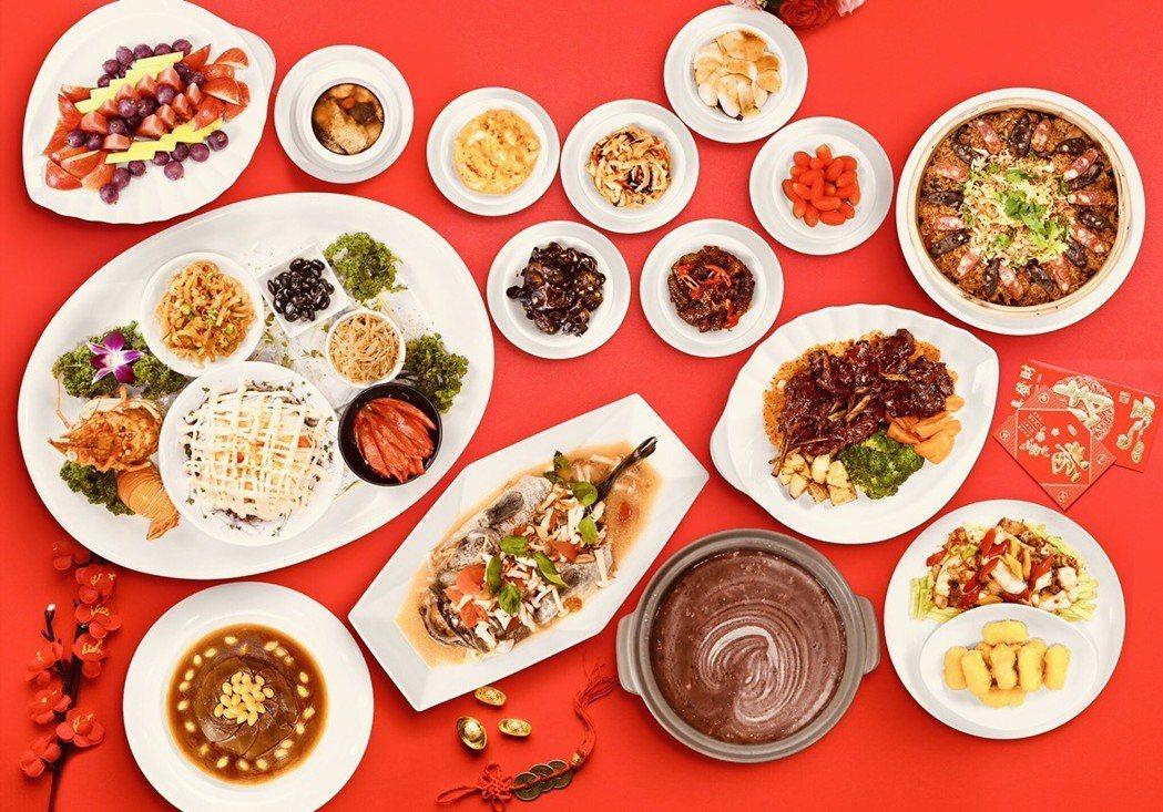 礁溪麒麟大飯店,推出全新圍爐佳餚輕鬆品嚐名廚年菜料理。麒麟大飯店/提供