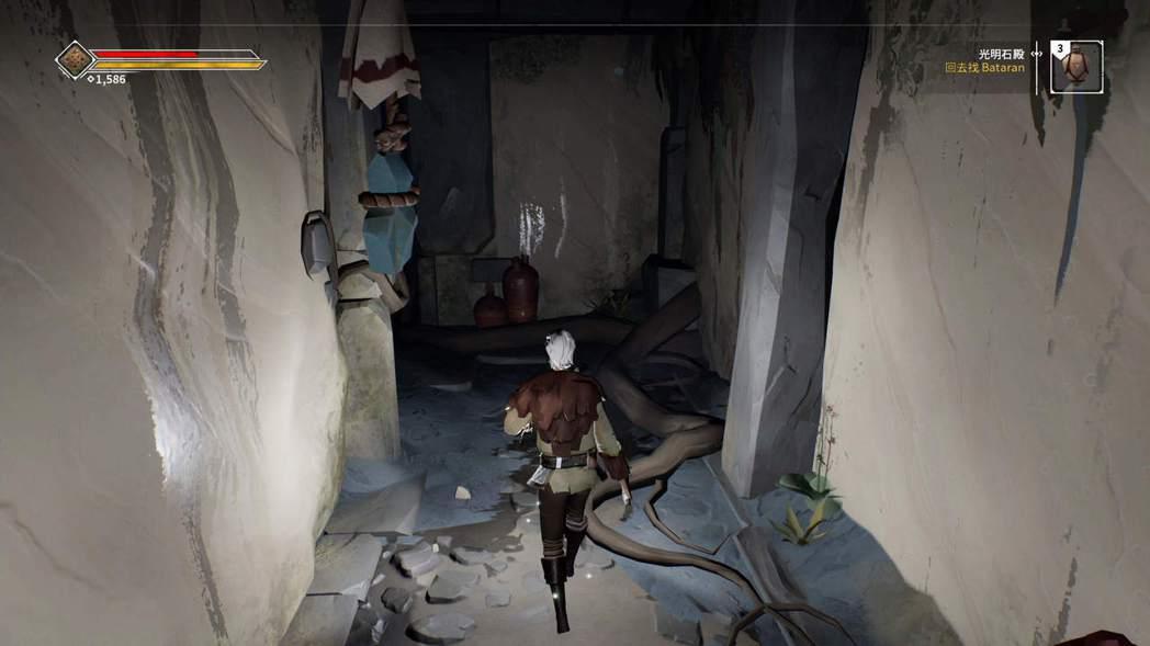 ▲遊戲內的地城都非常昏暗,少了提燈很難掌握敵人位置