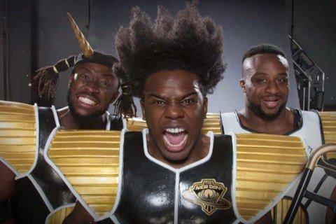 美國黑人把自身的命運,投射到了日本動漫《七龍珠》上?圖為美國WWE摔角手Xavi...
