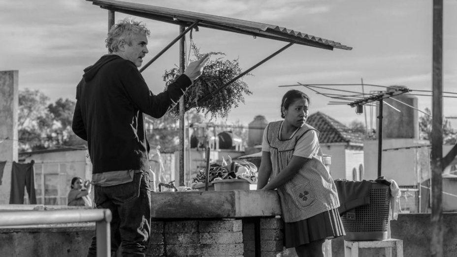 艾方索柯朗再度以「羅馬」拿下金球獎最佳導演。圖/Netflix提供