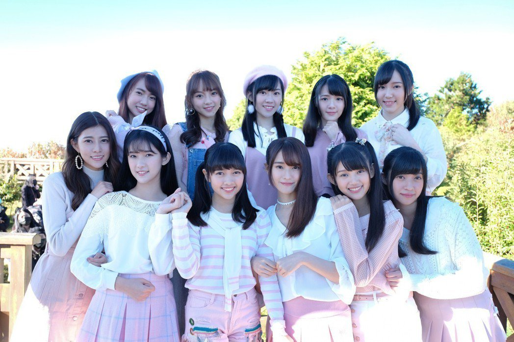 AKB48 Team TP推出「櫻花瓣」MV。圖/好言娛樂提供
