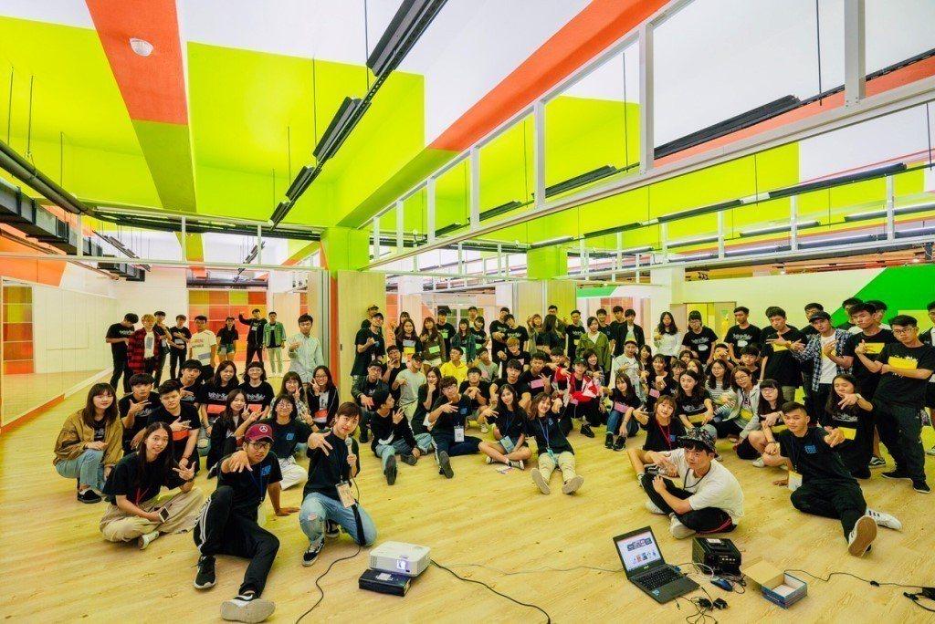 中原大學「樂河源地」快樂泉源,打造學生社團專屬空間。圖/中原大學提供
