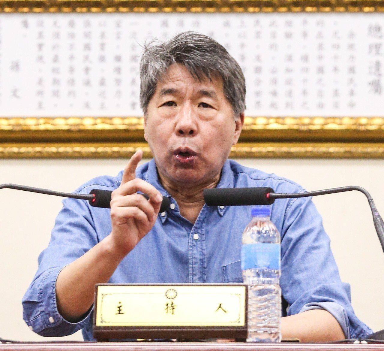 孫文學校總校長張亞中。 聯合報系資料照片/記者鄭清元攝影