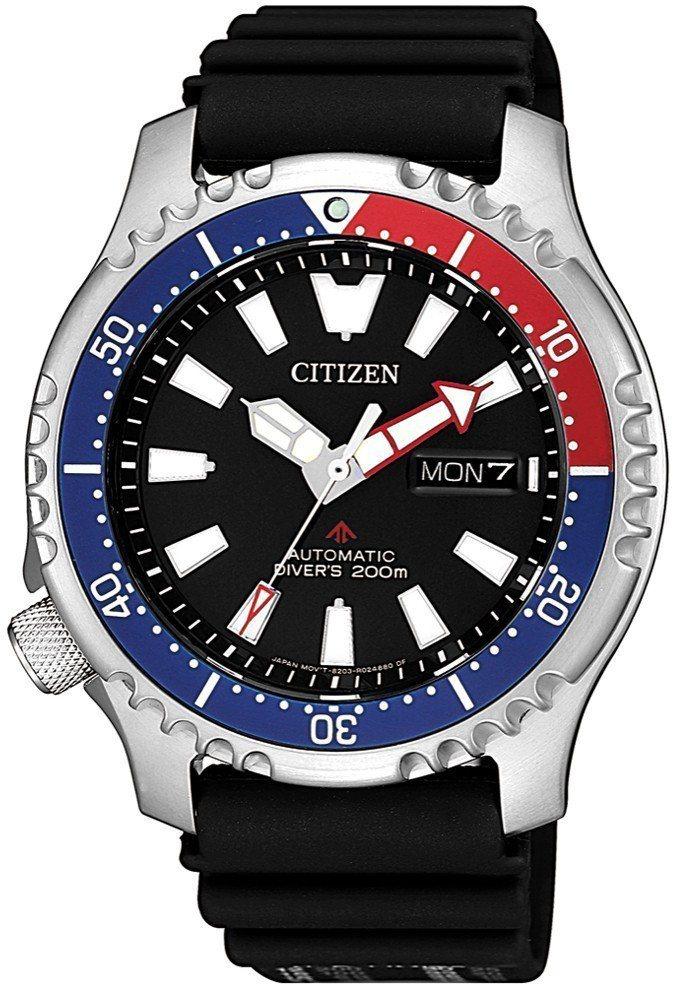星辰Promaster Marine系列NY0088-11E腕表,不鏽鋼表殼,自...