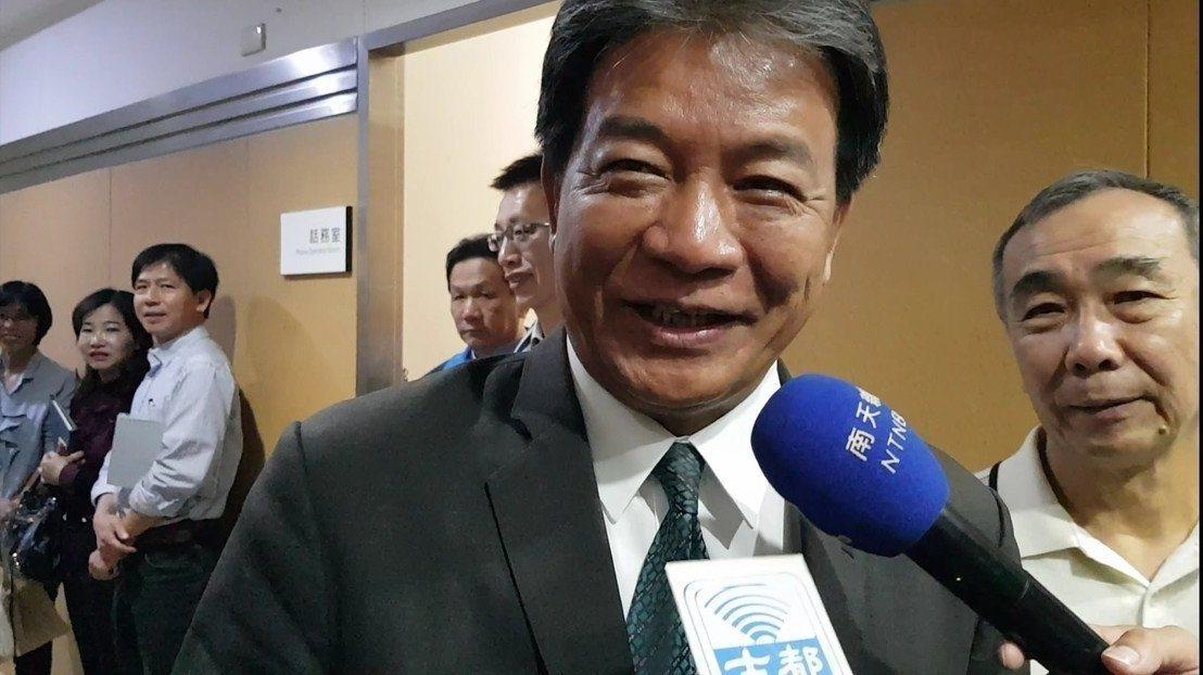 退黨而選上台南市議長郭信良早上表示希望能夠重回民進黨。記者修瑞瑩/攝影