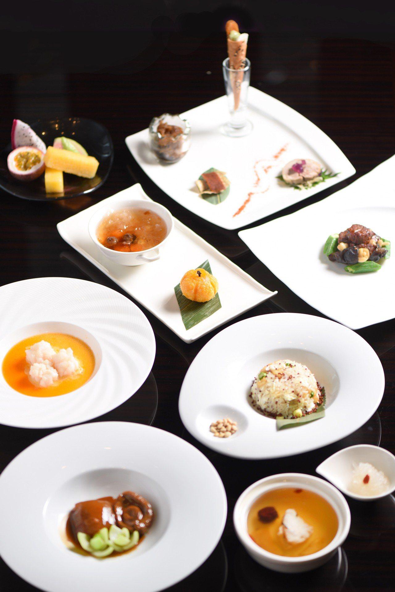 台北W飯店_以頂級食材打造「冬艷鮮味」系列套餐。