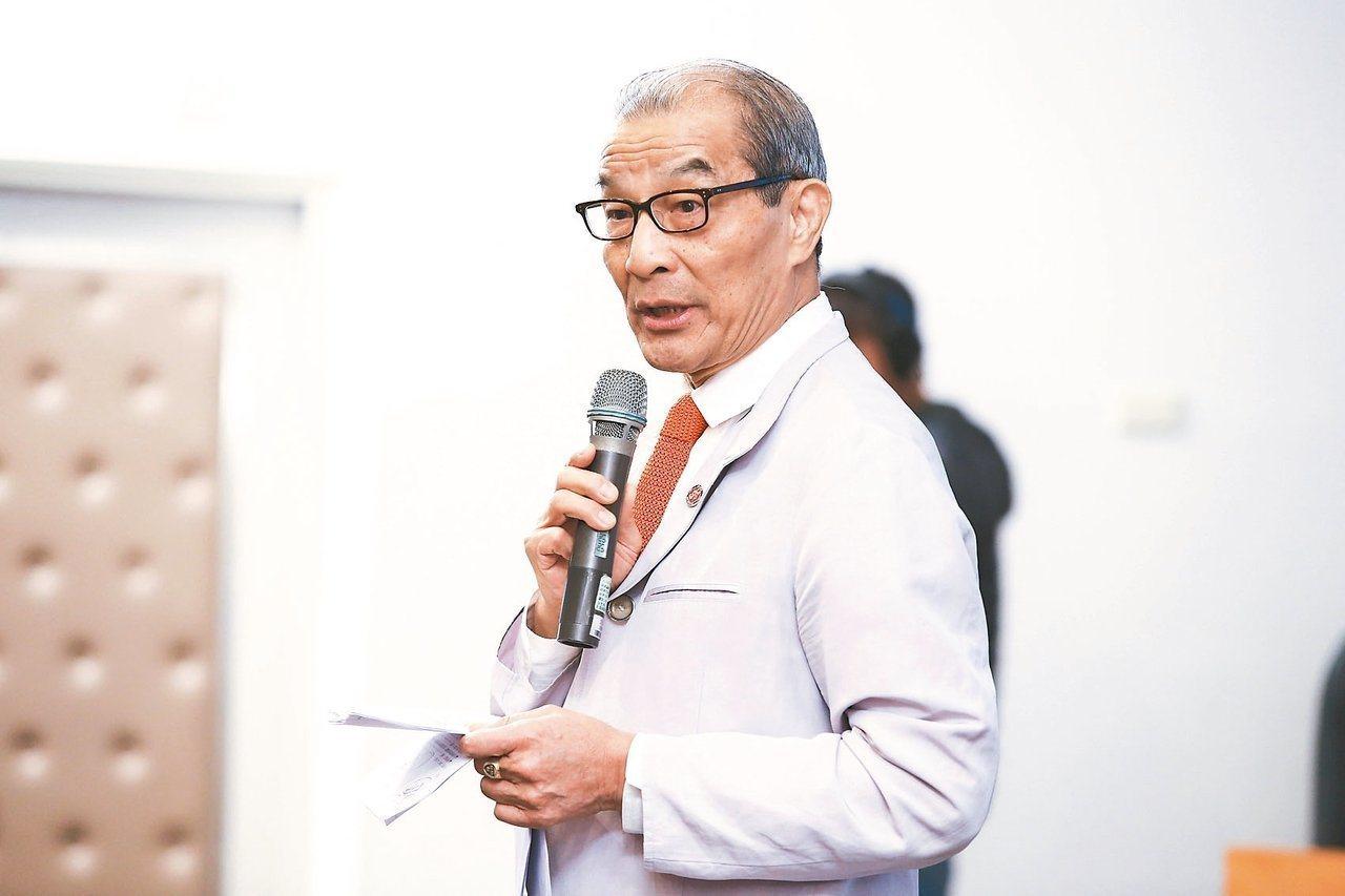 振興醫院董事長陳長文。 圖/聯合報系資料照