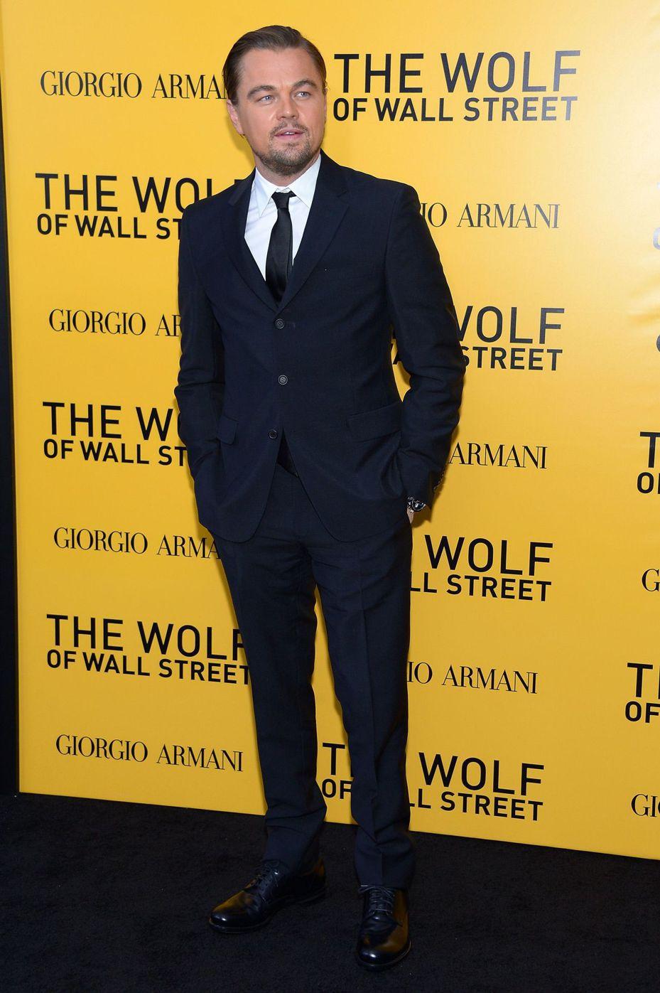 好萊塢影星李奧納多狄卡皮歐。 法新社