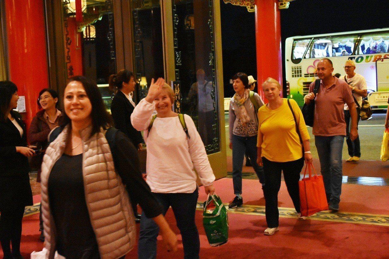 首度有俄羅斯觀光團到台灣環島旅遊。圖/圓山飯店提供