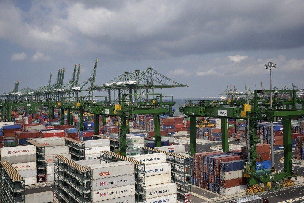 中美貿易戰促成大陸公布新的「外商投資法」草案。 (美聯社)