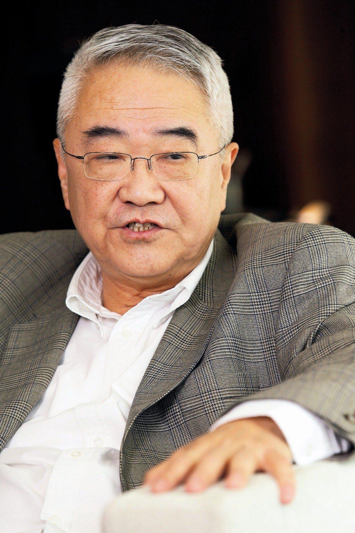 中磊董事長王伯元。 本報系資料庫