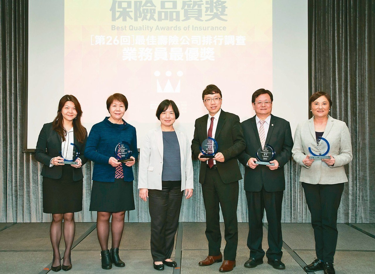 由《現代保險雜誌》舉辦的「保險品質獎」昨(7)日舉行頒獎典禮,台灣人壽一舉拿下最...