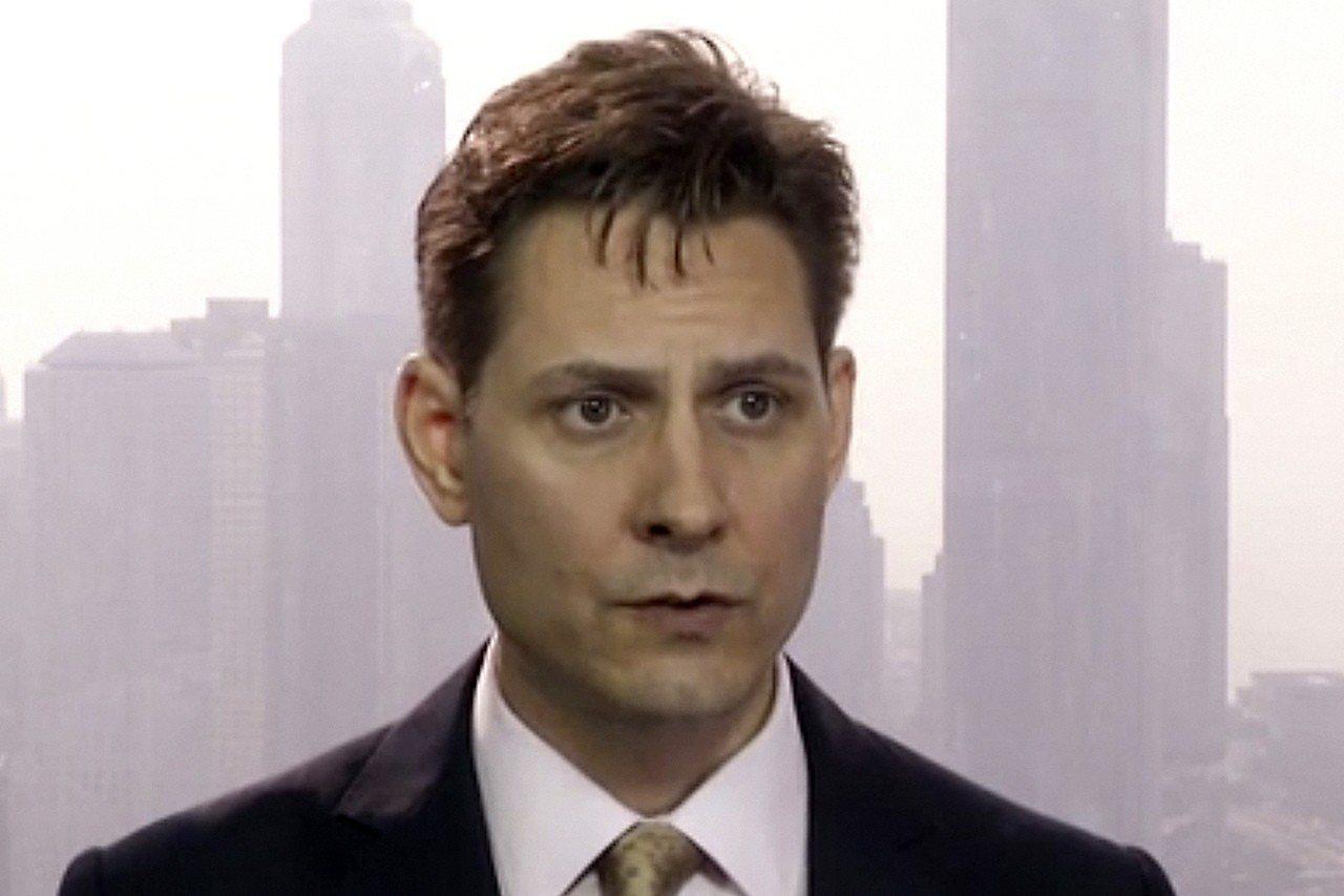 被北京拘押的加拿大前外交官康明凱(Michael Kovrig)。 美聯社