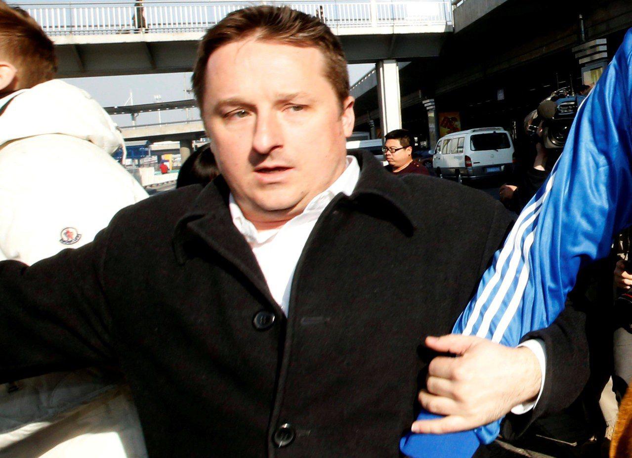 被北京拘押的加拿大商人斯帕弗(Michael Spavor)。 路透社
