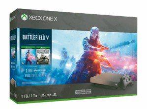 Xbox One X 1TB+遊戲片同捆組。 全國電子/提供