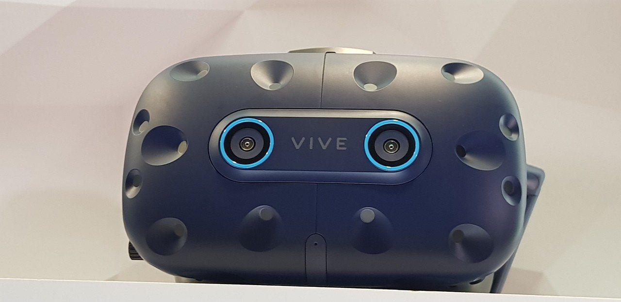 宏達電的Vive Pro Eye在歐洲市場正式推出VR新款高階裝置VIVE Pr...
