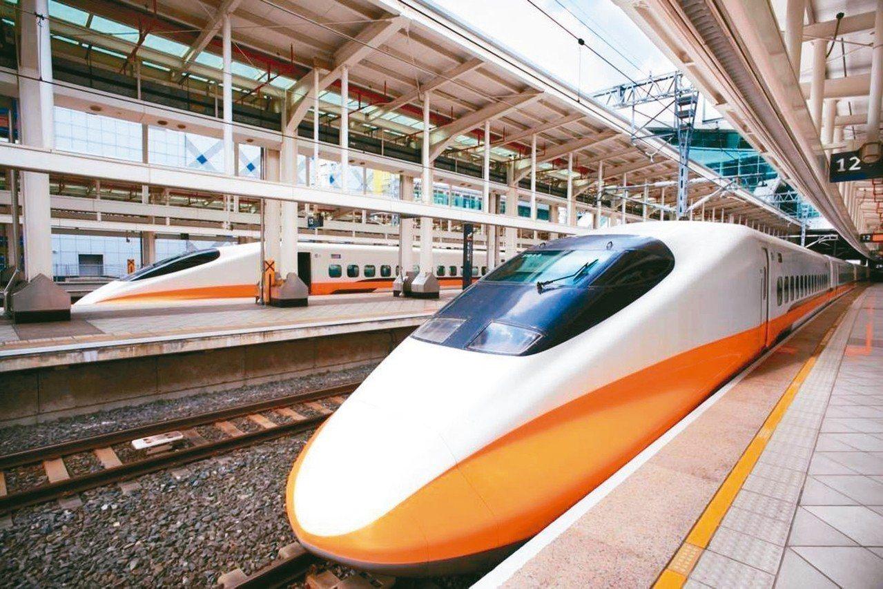 台灣高鐵表示維修技術、營運服務等經驗,有希望對外輸出。 聯合報系資料照片