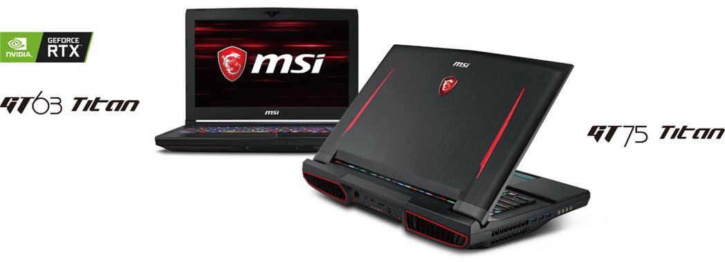 微星王者產品系列GT Titan則全面升級搭載最新RTX系列顯示卡及可超頻的i9...