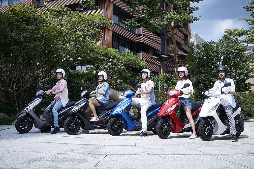 2018年台灣二輪機車銷售總量僅有85.5萬輛,相比2017年衰退近15%。 圖...