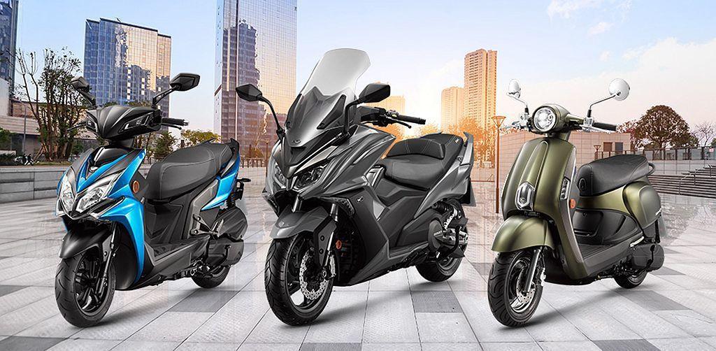 光陽機車(Kymco)依舊是台灣二輪機車市場銷售龍頭,總銷售數量達30.4萬輛市...